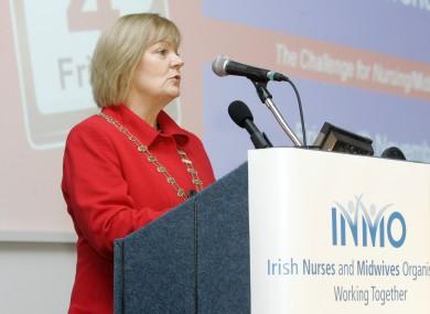 Sheila Dickson, President INMO