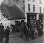 1901: Visiting Killarney's sheep fair, Co Kerry. (Library of Congress, Prints & Photographs Division)