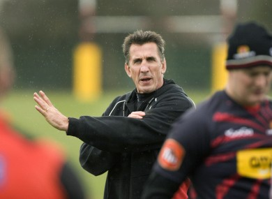 Rob Penney: expected to arrive in Limerick in July.