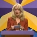 Do you have your homework done? Because once Glenroe is over it will be time for bed and then it's back to school on Monday morning!   Shudder! Theresa Lowe was the Sunday night quizmaster on RTÉ in the late eighties. Where in the World contestants could win a holiday... or an umbrella.