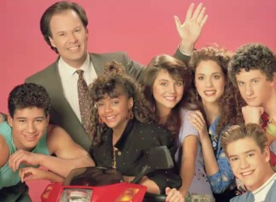 Saved by the Bell - the original cast.