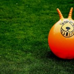 It hurt your legs and your bum and you were always falling off it. But everyone had to have a space hopper.   Image: Lee Osbourne via Creative Commons