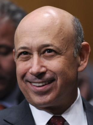 Lloyd Blankfein of Goldman Sachs