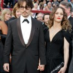 Johnny Depp, nominated for an Oscar for best actor in a leading role for his work in