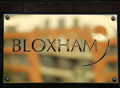 Bloxham, formerly Ireland's oldest stockbroking firm, was shut down by the Central Bank last month.