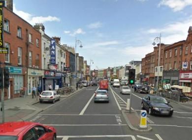 File Google Maps image of Camden Street, Dublin.