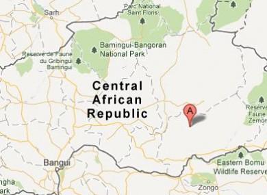 Bakouma, Central African Republic.