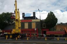 Merrion Inn pub seriously damaged by overnight blaze