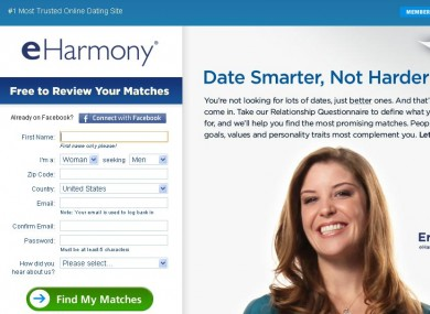 in eharmony dating site
