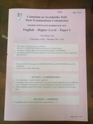 english leaving cert comprehension French teacher corinne gavenda advises students how to approach a leaving  cert higher level french reading comprehension in a how-to.