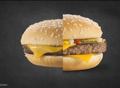 difference between burger king and mcdonalds