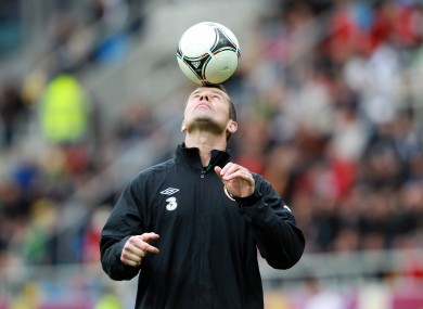 Goalkeeper Shay Given: he'll be fine for Croatia game.