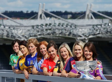 Sky's The Limit: Inter-county stars gathered in Croke Park for today's launch.