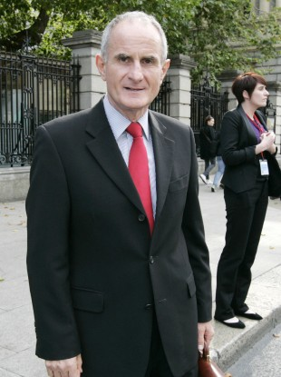 Senator Martin McAleese pictured outside Leinster House