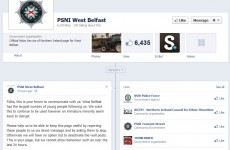 PSNI officers warn Facebook users about illegal sectarian posts