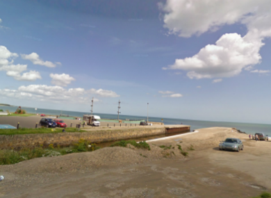 File Google Maps image of Courtown Harbour in Co Wexford.