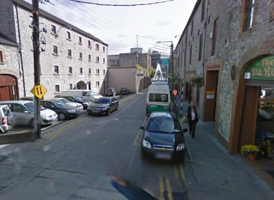 Mayoralty Street in Drogheda, Co Louth