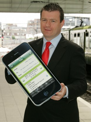 Minister of State Alan Kelly launching the service last week.