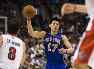Lin was a sensation with the Knicks last season.