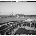 1904: Malecon and El Morro in Havana. (Library of Congress, Prints & Photographs Division)