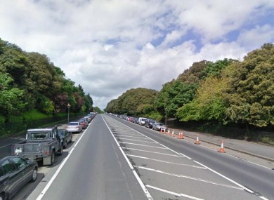 The main road in the Phoenix Park in Dublin (File photo)