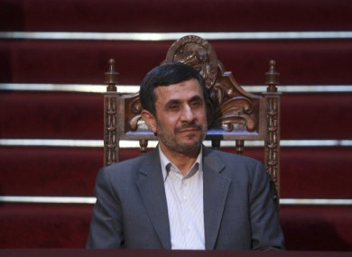 The scandal led to weeks of political infighting involving President Ahmadinejad's government.