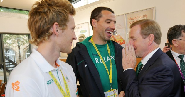 In pictures: Enda Kenny offers some last-minute encouragement to Ireland's Games hopefuls