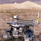 A FIDO rover is tested on Earth in an experiment simulating conditions on Mars in 1999. (Image: NASA)