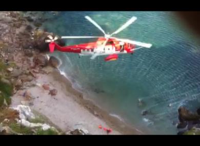 Irish Coast Guard at Howth Head