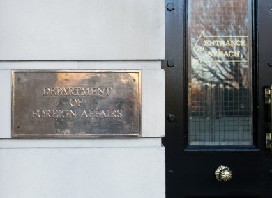 The Department of Foreign Affairs is offering consular assitance