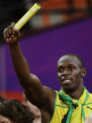 Usain Bolt had been ordered to return the Jamaican team's baton - but has now been let keep it.