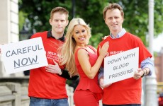 Down with that sort of thing: Dermot Morgan's sons launch Heart Month