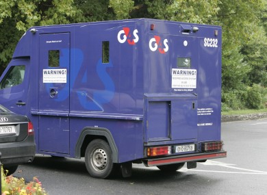 A security van (File photo)
