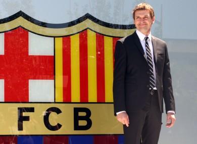 Tito Vilanova: top job.