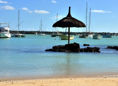 Grand Bay in Mauritius (File)