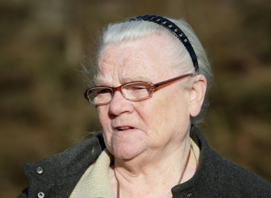 Winnie Johnson, the mother of Keith Bennett, who died overnight at the age of 78.