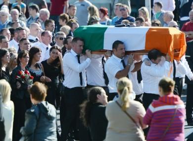 Alan Ryan's funeral