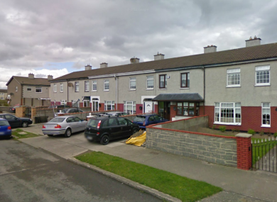 The explosive device was found overnight in a house in Belcamp Crescent, Coolock.
