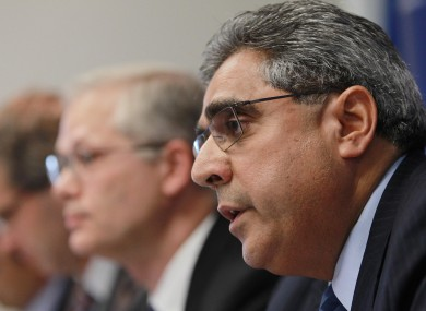 The IMF's Ajai Chopra: the best hope for Ireland getting back to bond markets is if European leaders implement a deal to split Ireland's bank debts from the Irish state.