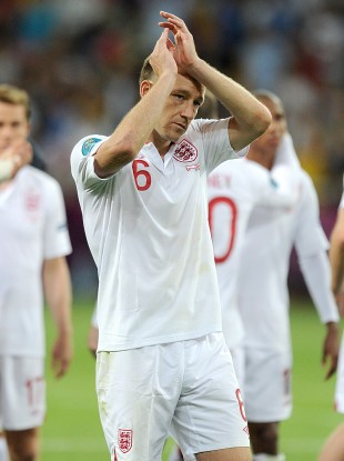 Terry during Euro 2012.