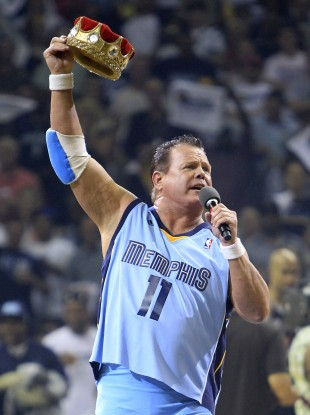 Jerry 'The King' Lawler began his wrestling career in the 1970s.