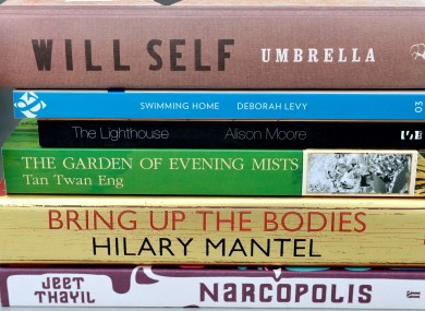 The six novels on the shortlist for the Man Booker prize