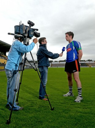 Kilkenny's Michael Fennelly interview in Nowlan Park last week.