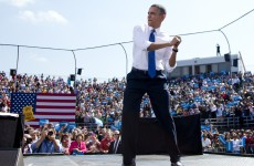 Primary colours: Barack Obama makes his prediction for the World Series