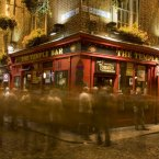 The Temple Bar pub in... Temple Bar, Dublin. Image: Holger Leue/Tourism Ireland.