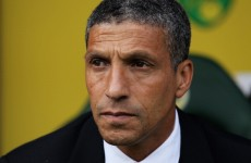 Hughton rallies Norwich after heavy loss