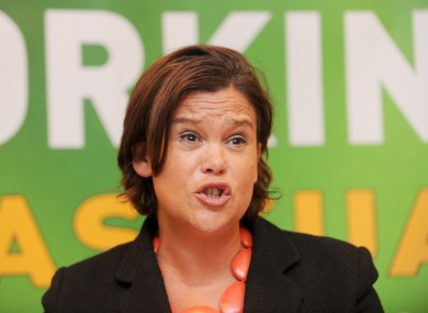 The Sinn Féin delegation will be led by the party's deputy leader, Mary Lou McDonald