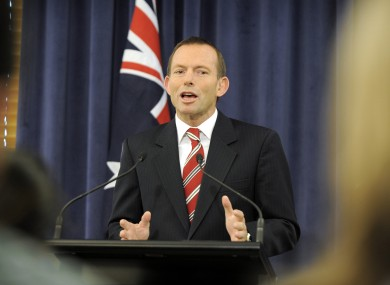 Tony Abbott was accused of 'misogyny' and 'sexism' by Prime Minister Julia Gillard earlier this month