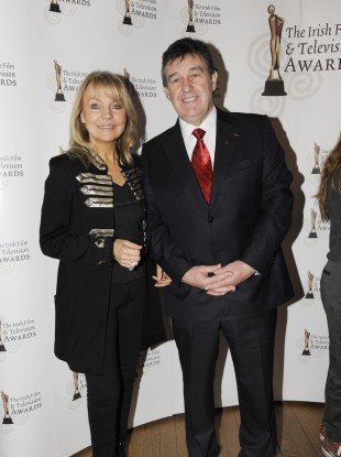 Bill Cullen and partner Jackie Lavin (file photo).