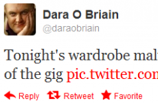 Tweet Sweeper: Dara O Briain has a problem with his trousers